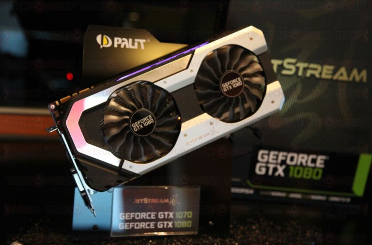 Palit GeForce GTX 1080 Super JetStream